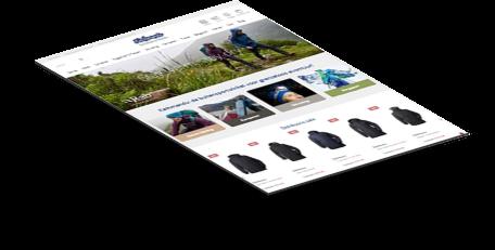 Kathmandu webshop design