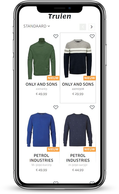 Lots of Fashion - product view mobile