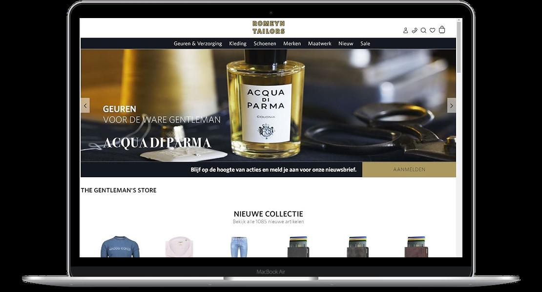 Romeyn Tailors webshop