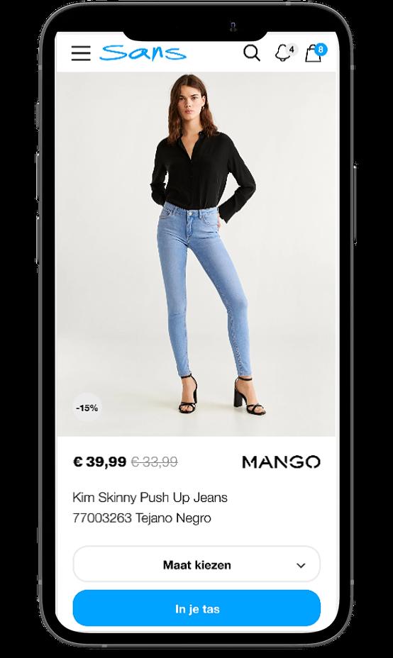 Sans-Online mobile product