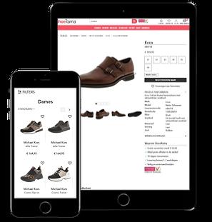 ShoeRama webshop product view