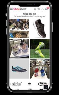 ShoeRama instagram koppeling