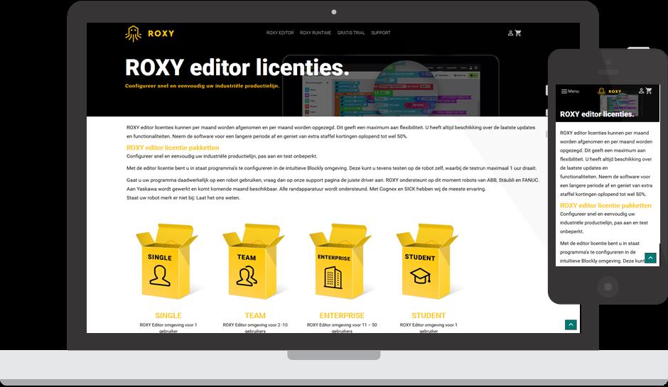 Factif - Ons werk - Roxy
